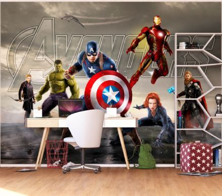 Marvel Avengers Premium wallpaper mural 2